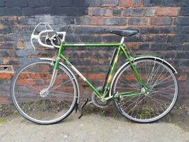 DAWES Galaxy classic touring bike Reynolds 531 Steel Frame With Chrome Detailing
