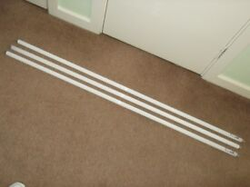 FLUORESCENT TUBES X3 OSRAM L 58W/840 150CM LENGTH unused as new but missing the boxes
