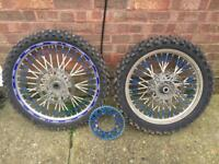 YZ 125 / 250 Front & Rear Motocross Wheels