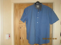 Next Mens Short sleeve shirt