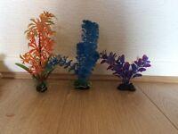 Artificial plants for fish aquarium