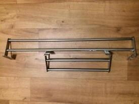 Ikea grundtal towel rails