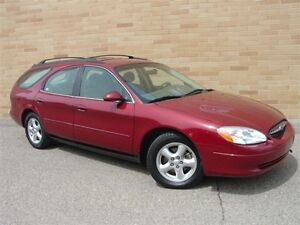 2003 Ford Taurus SE Wagon. WOW!! Only 122000 Km! Certified!