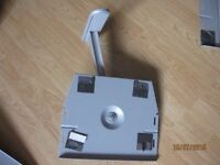 Grey wall bracket for TV or Stereo equipment