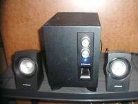 Polaroid 2.1 Surround sound speaker system
