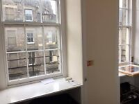 A double bedroom in the royal mile.