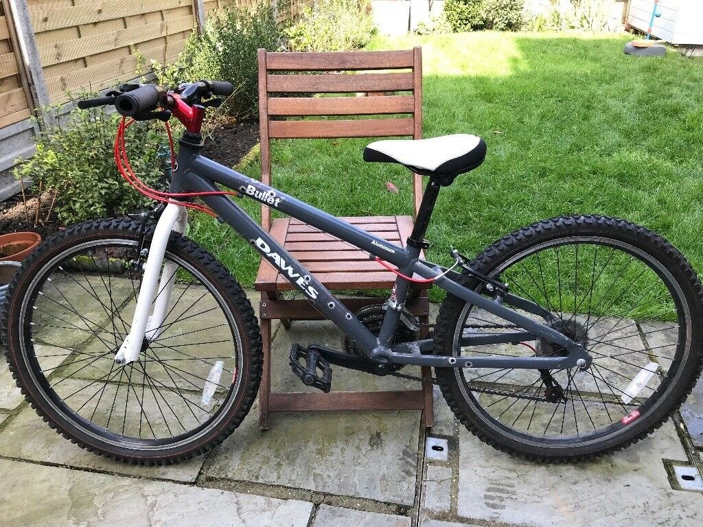 child bike 24 wheels great condition dawes bullet little used