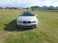 BMW CONVERTIBLE 318ci in Silver, just 49k genuine miles, FSH, Lady owner, Perfect Example
