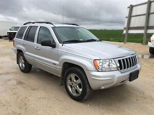 2004 Jeep Grand Cherokee Limited Package ***2 Year Warranty Avai