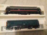Model railway oo gauge trains for sale in great working order.