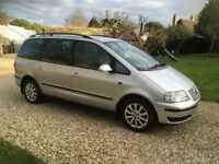 Volkswagen Sharran Sport TDI PD 130 BHP 6 Speed Manual 7 Seater FSH 125 K Superb Throughout !!