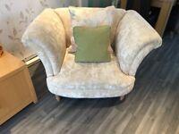 4 & 3 Seater Sofas, Armchair & Footstool