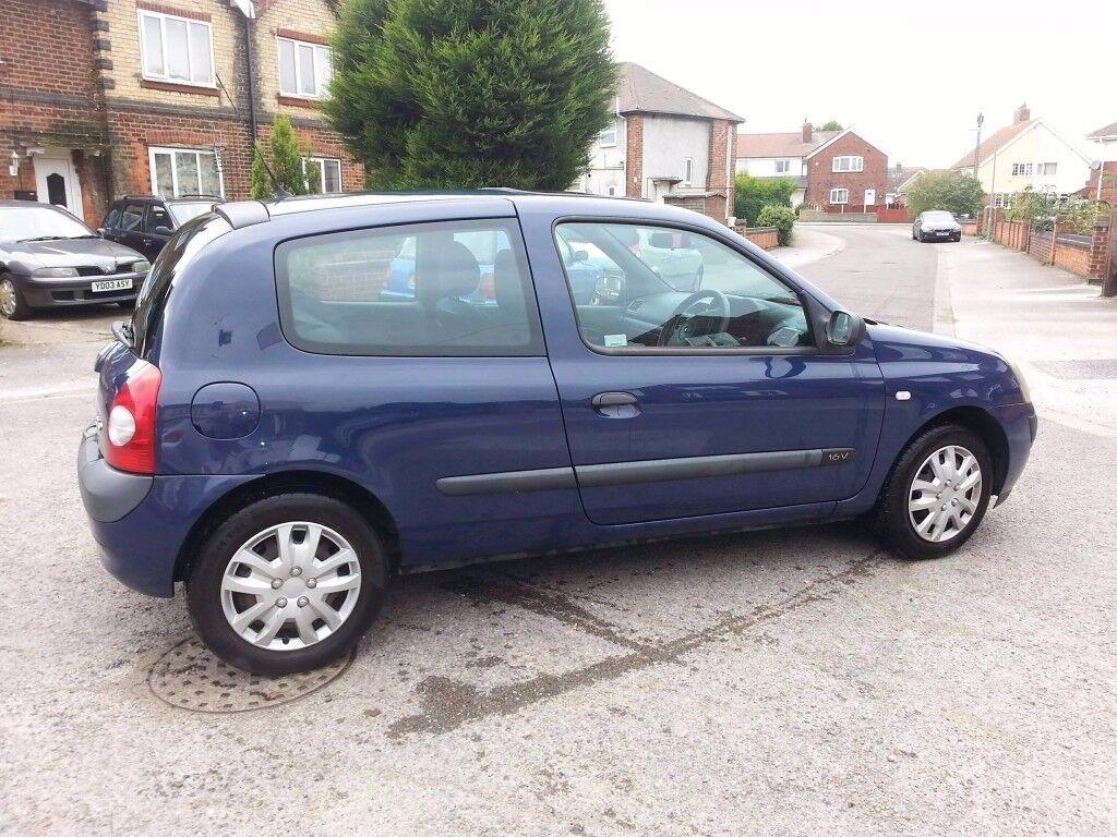 2003 Renault Clio - Cheap Insurance - 12 Months MOT