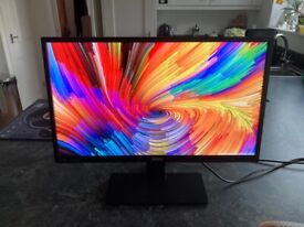 "Benq GW2470 24"" HD Monitor VGA, DVI, HDMI, Built in Speakers"