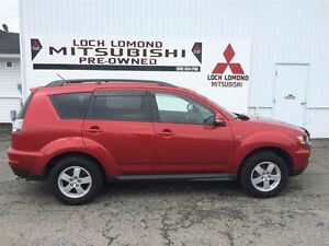 2013 Mitsubishi Outlander LS,V6 POWER, 3RD. REAR SEAT, WARRANTY