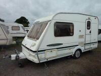 2002 Abbey Freestyle 400SE with full awning