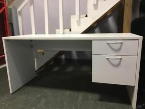 IOF Straight Desk with Box/File Pedestal - $249