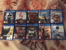 Playstation 4 Games 10 PS4 Video Games for Sale Bundle Bargain Offer (NO SINGLE SALE)