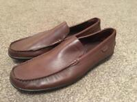 Men's Lacoste leather loafers