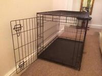 Dog crate/cage medium