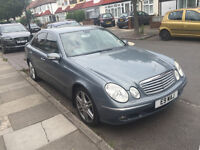 MERCEDES E280 3L V6, DIESEL, LOW GENUINE MILEAGE, LEATHER, 18INCH AMG ALLOYS, LIMO TINTS