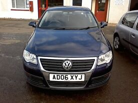 Free Delivery 11/08/2006 Volkswagen Passat S Tdi 105 Saloon 1.9l Diesel-New Brake&Pads-Free Delivery