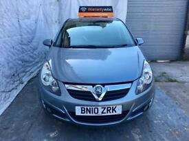 2010Vauxhall Corsa 1.2 i 16v SXi 5dr,LOW MILES 60K HPI CLEAR/3 MONTHS WARRANTY. PH 07459871313