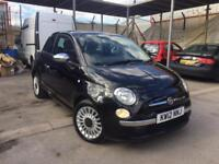 FIAT 500 LOUNGE 1.2, 2012 **TOP SPEC**RED LEATHER**SUNROOF**NEW M.O.T**LOVELY CAR**BARGAIN!!