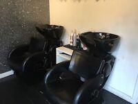 Hairdressing basins