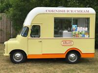 VINTAGE 1962 ICE CREAM VAN FOR HIRE