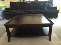 Solid Wood Bespoke Square Coffee table