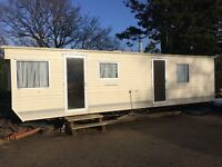 2 bed static caravan for sale. Ideal for self-build/site accommodation