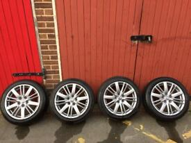 Renault Megane GT Line Alloy Wheels / Rims with Excellent Tyres 17