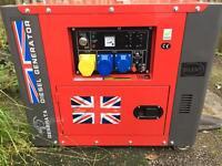 Diesel Perkins generator
