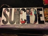 Large suicide squad canvas