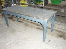 Original antique kitchen table
