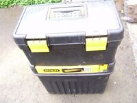 Stanley Double Tool box with trays