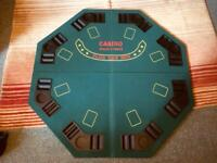 Full size poker table