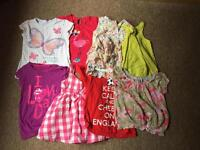 Bundle of girls clothes(16 items) age 3-4 years