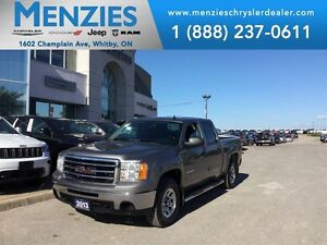 2013 GMC Sierra 1500 SLE 4x4, Tubular Side Steps, Clean Carproof