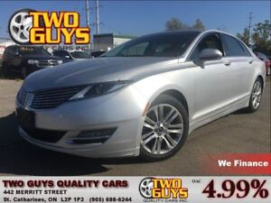 2013 Lincoln MKZ LEATHER SUN ROOF
