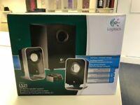 Logitech LS21 PC Speaker - 2.1 - 7W RMS