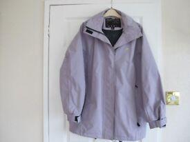 Ladies waterproof Trespass jacket size large