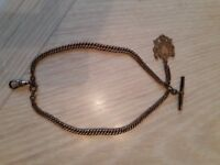 Antique rolled gold Albert Chain