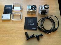 Go pro hero 2 and accessories