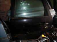 breaking parts focus 2005 till 2008 2.0tdci black touring all door rear bumper mk2