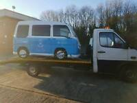 Car breakdown vehicle recovery service Manchester car collection and delivery service