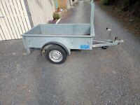 Car trailer bronnis 6ftx3.6ft