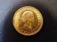 Full gold Sovereign Elizabeth 1966 graduated EXTREMELY FINE
