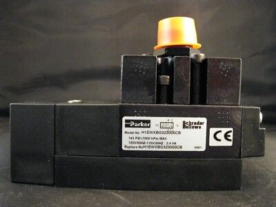 Parker Schrader Bellows Solenoid Valve H1ewxbg323000cb New